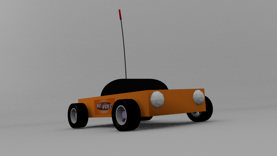 Blender car render