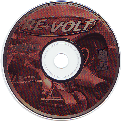 Re-volt CD